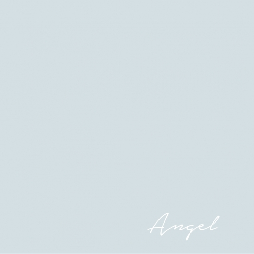 Flamant Angel 169 - a light blue paint color.