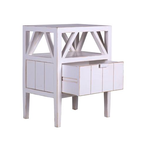 charme de provence flamant sidetable nachttisch. Black Bedroom Furniture Sets. Home Design Ideas