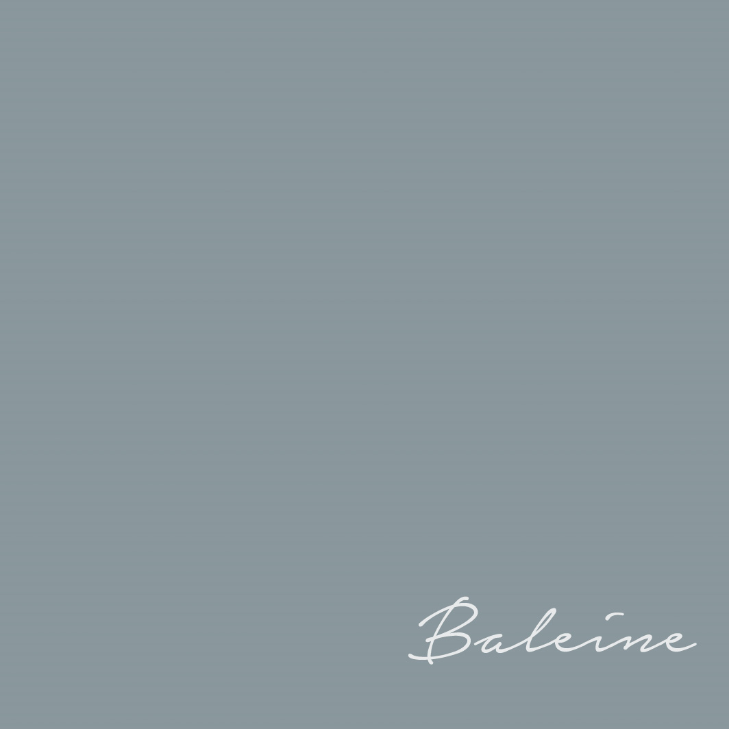 Flamant Baleine 170 - a slate blue paint color.