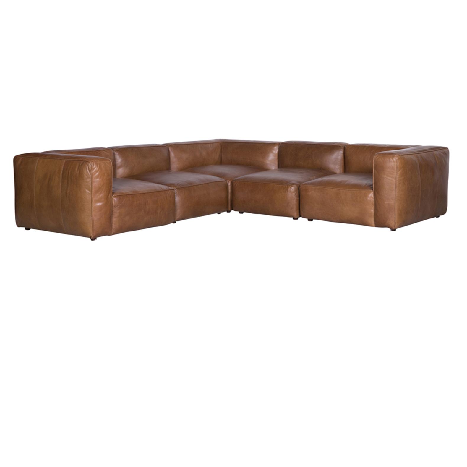 Vintage eck sofa  Charme de Provence - Flamant Sofas, Ledersofas Flamant