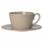 Constance - mastic - Cafe Latte Tasse - Cote Table