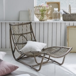 Daybed Michelangelo aus Rattan in der Farbe antique